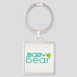 Baby Bear - Family Matching Square Keychain