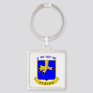 6th BN 502nd INF Keychains