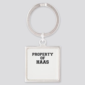 Property of HAAS Keychains