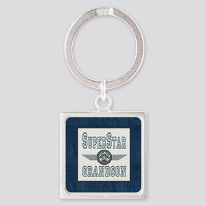 Blanket Blue Jean superstar grands Square Keychain