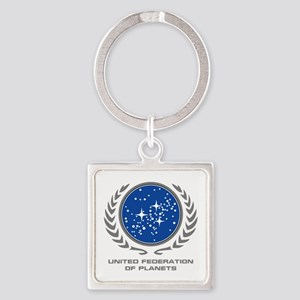 United Federation of Planets Square Keychain