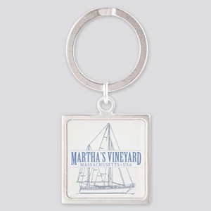 Martha's Vineyard - Square Keychain