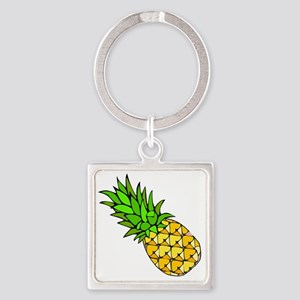 Psych - Pineapple Square Keychain