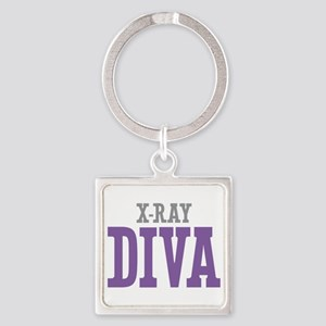 X-Ray DIVA Square Keychain