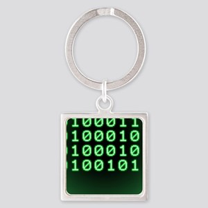 Binary code for GEEK Square Keychain