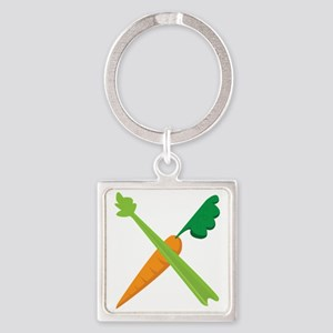 Celery & Carrot Keychains
