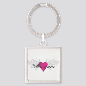 Maryam-angel-wings Square Keychain