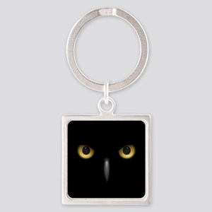 Owl Eyes Lurking In The Dark Keychains