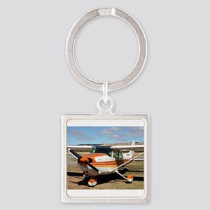 Plane: high wing Keychains