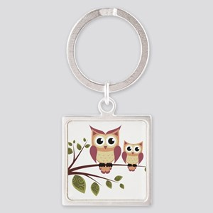 Duo of Owls Keychains