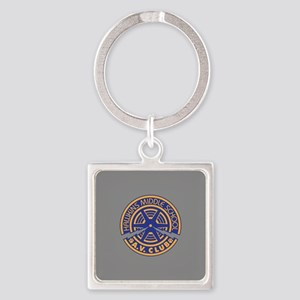 Hawkins Middle AV Club Square Keychain