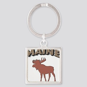Maine Moose Keychains