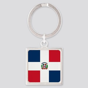 Flag of the Dominican Republic Keychains