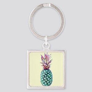 Mulit Coloured Pineapple Keychains
