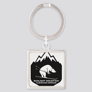 Sunlight Mountain Resort - Glenwood Sp Keychains