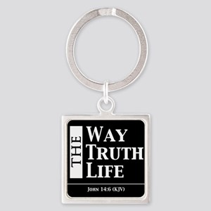 The Way, The Truth, The Life - John 14:6 Keychains
