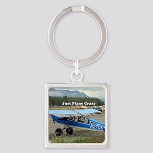 Just plane crazy: high wing aircraf Keychains
