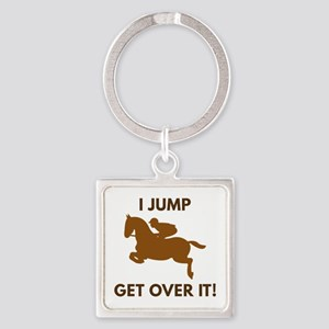 Get Over It! Square Keychain