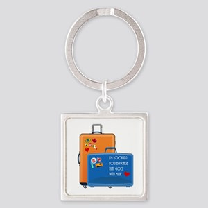 Matching Baggage Keychains
