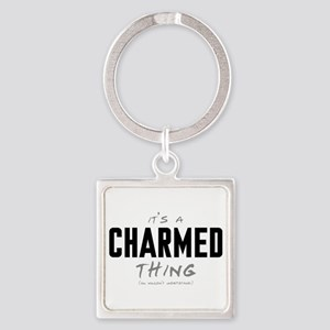 It's a Charmed Thing Square Keychain