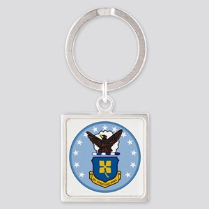 307th Strategic Wing Square Keychain