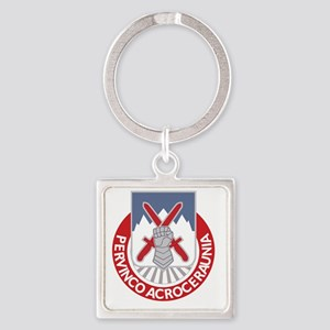 Army 10th Mountain Division Specia Square Keychain