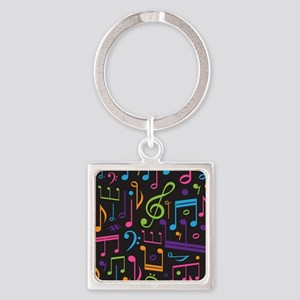 Music notes Band Choir Keychains