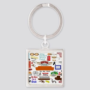 Friends TV Show Collage Keychains