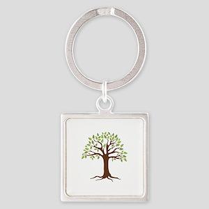 Oak Tree Keychains