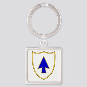 26th Infantry Regiment Square Keychain