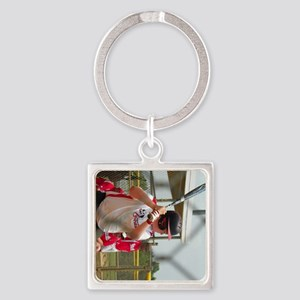 Dustin 5 Square Keychain