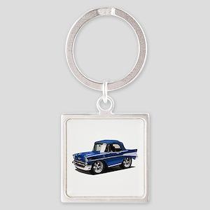 BabyAmericanMuscleCar_57BelR_Blue Keychains