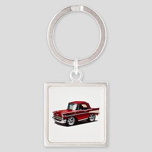 BabyAmericanMuscleCar_57BelR_Red Keychains