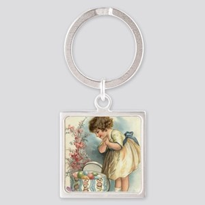 victorian easter Keychains