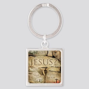 Names of Jesus Christ Square Keychain