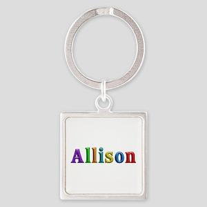 Allison Shiny Colors Square Keychain