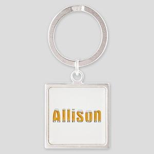 Allison Beer Square Keychain