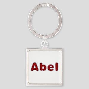 Abel Santa Fur Square Keychain