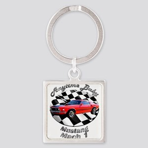 Ford Mustang Mach 1 Square Keychain