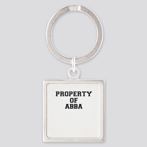 Property of ABBA Keychains