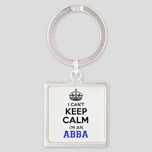 I cant keep calm Im ABBA Keychains