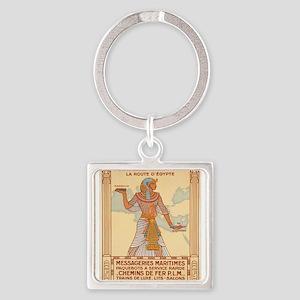 Vintage poster - Egypt Keychains