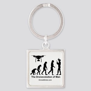The Dronevolution Of Man Keychains