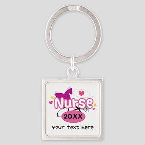 Personalized Nurse Graduation Keychains