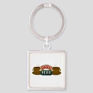 Friends Central Perk Square Keychain