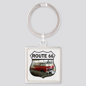 Route 66 Museum - Clinton, OK Square Keychain