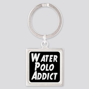 Water Polo addict Square Keychain