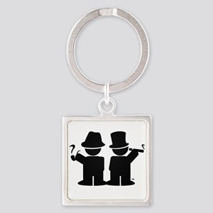 Stogie Friends Swag Square Keychain