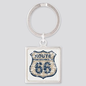 rt66-rays-T Square Keychain
