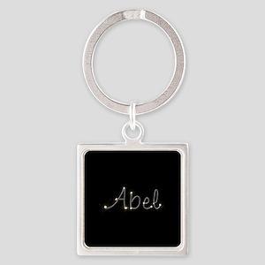 Abel Spark Square Keychain